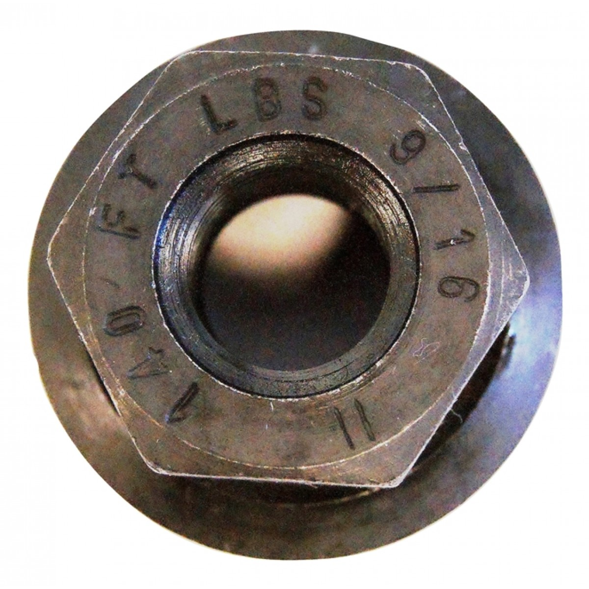 Lug Nut 9 16 Swivel Flanged Flat Wheel
