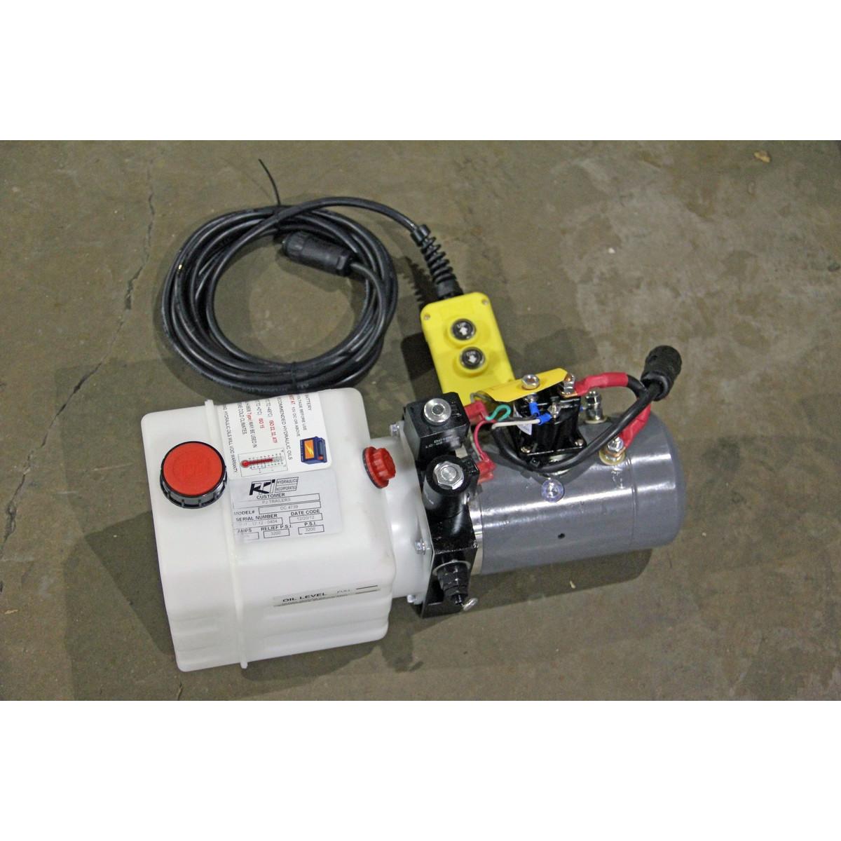 KTI Hydraulics 3 Quart Replacement Reservoir