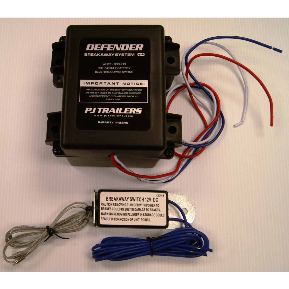 Breakaway Kit Defender Mexican Trailers Wiring Kits For