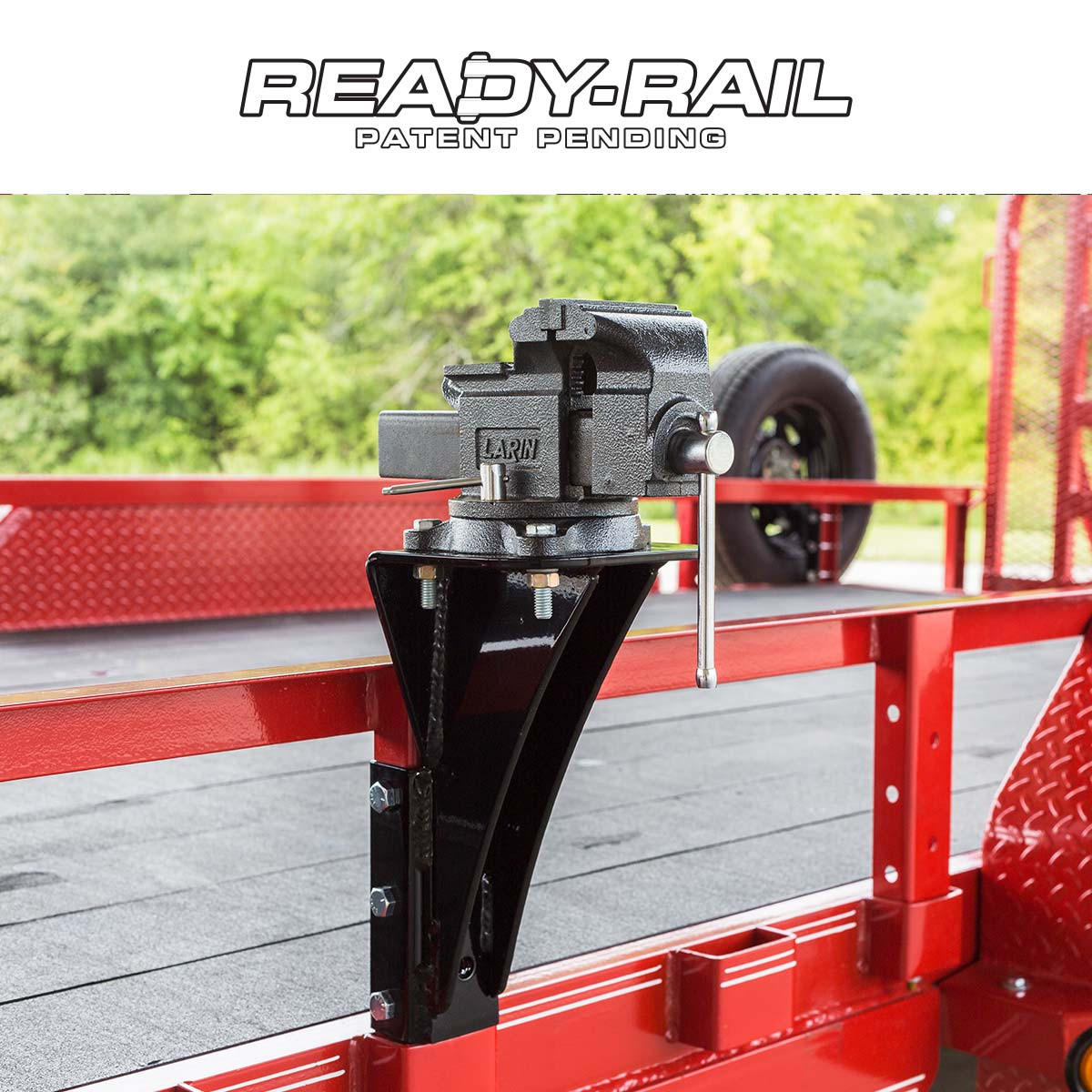 Mobile Tire Service >> Ready Rail Bench Vise