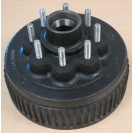 "Hub Drum Brake 8K quality running gear 5/8"" stud"