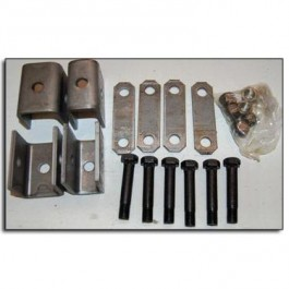 Hanger Kit 1-Axle Double Eye 3.5-52K
