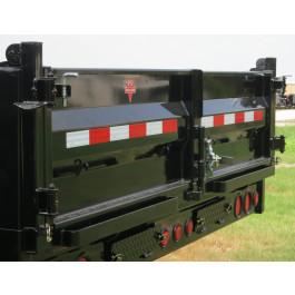 Tri-Gate Assembly D8 Dump Trailers