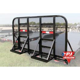 Gate Assembly HD/w legs U8 83'' Black