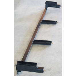 "Rail Front 77"" use with ATV Side Ramps"