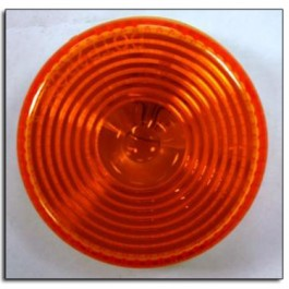 """Light, Clearance, 2"""" Round Amber"""