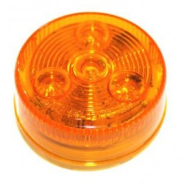 """Light, Clearance, LED 2"""" Round Amber"""