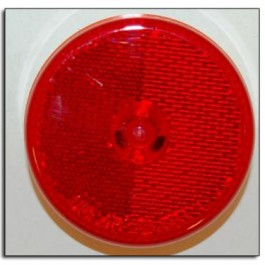 "Light Clearance, LED 2.5"" Round Red"