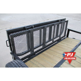 "Gate Bi-fold 60"" Regular Sides Black"