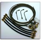 Hydraulic Brake Line Kit 10K-12K Disc New