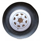 "Tire&Wheel 235/80R16 on 6 on 5.5"" White Spoke Goodride"