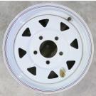 "Wheel 13"" White Spoke 5 on 4.5"""