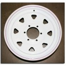 "Wheel 16"" White Spoke 6 on 5.5"""