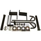 Mounting kit for U6, U7 or U8 gate
