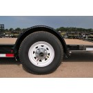 Black Fender Single Axle fits T1 C1 10""