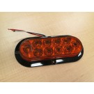 "Mid Turn Surface Mt 6"" Oval LED"