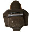 Connector Socket 7-way RV Flat Pin