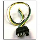 Connector Plug 4 way Flat