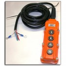 Remote Ctrl with cable 4 Button KTI