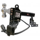 "Intellihitch 2"" Electric Brake Hitch Black"
